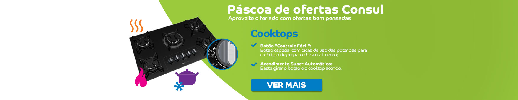 pascoa cooktops