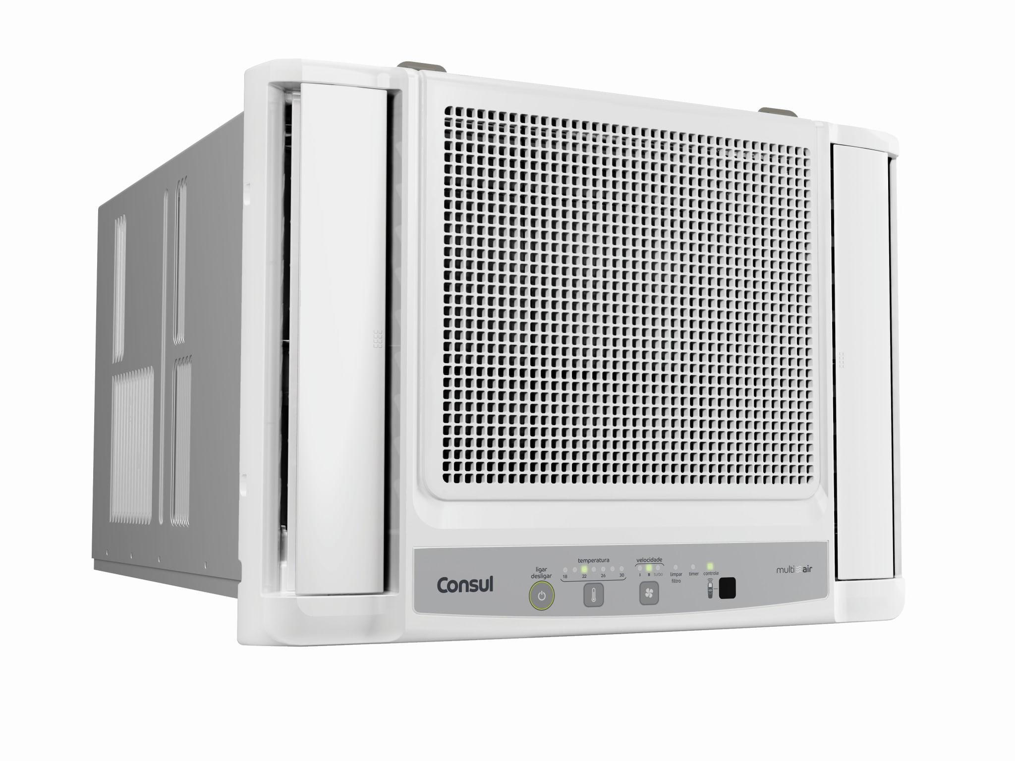 07d9122d8 Ar condicionado janela 10000 BTUs h Consul frio eletrônico com filtro  antipoeira - CCN10DB
