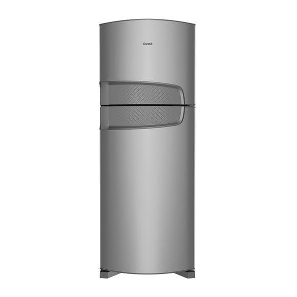 Geladeira 450 Litros: geladeira duplex inox Bem Estar Consul - Geladeira 450 Litros CDR49AK - Visão Frontal