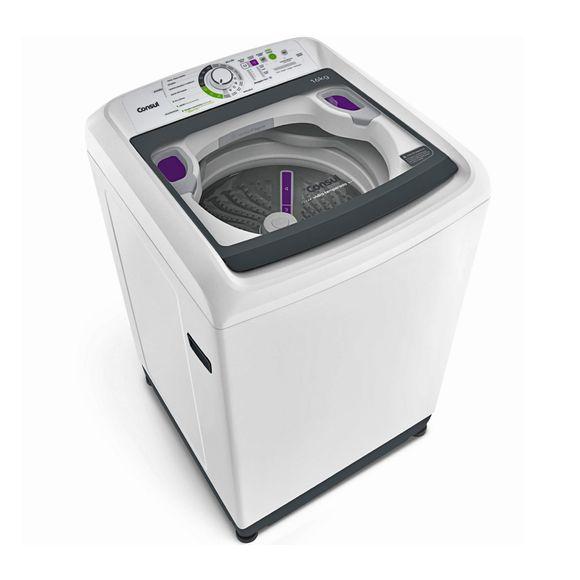 Máquina de lavar: Lavadora de roupas 16Kg Consul CWL16AB - Imagem em perspectiva