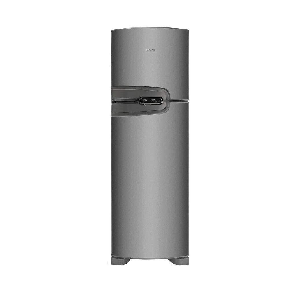 Top Geladeira Consul Frost Free Duplex 386 litros cor Inox - Consul WY19