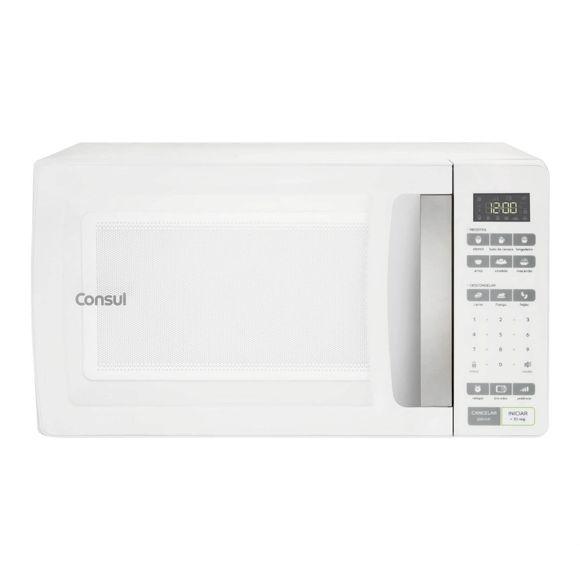 Microondas Consul 32 Litros Branco Com Função Descongelar - Cms45ab 220V