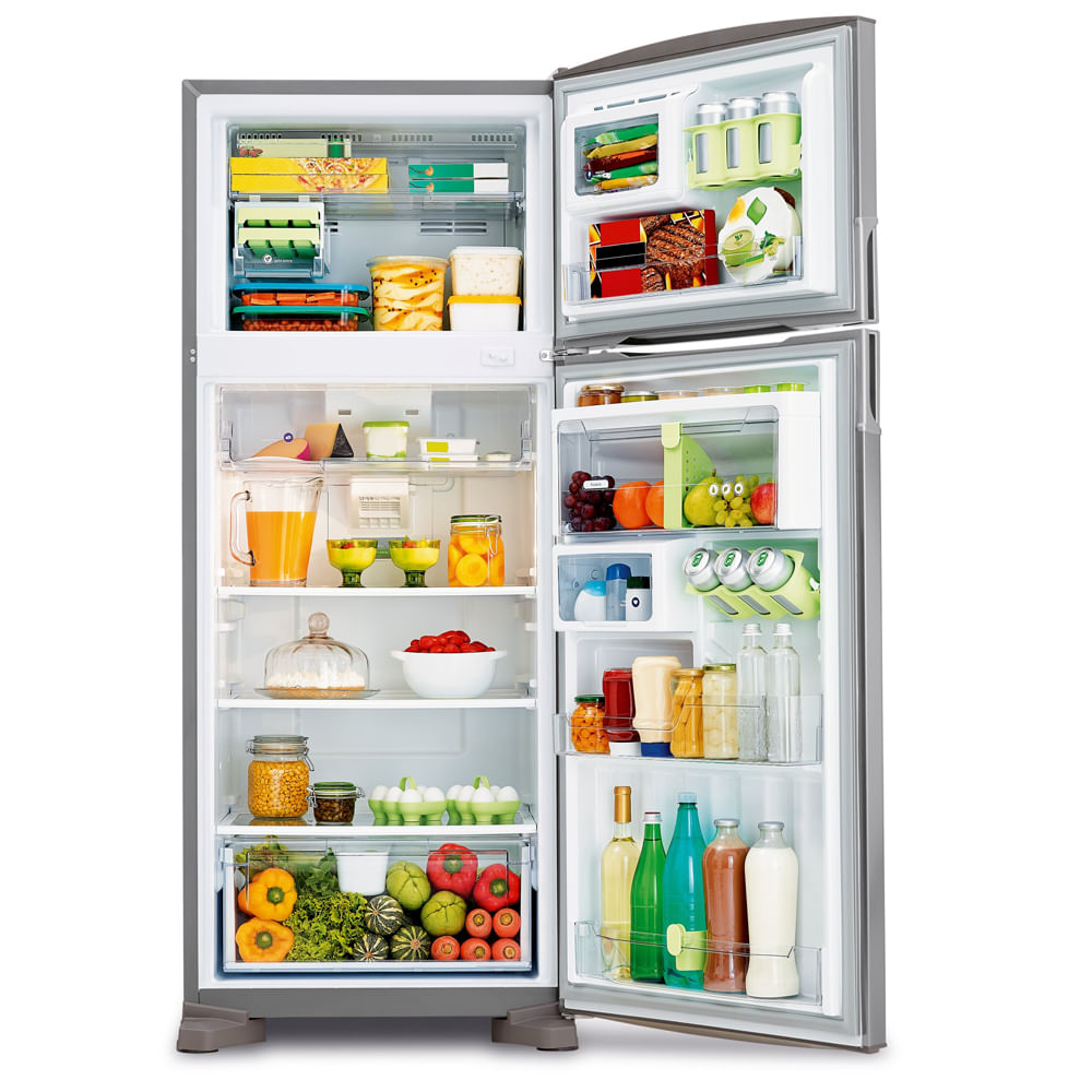 48113dfa3 Geladeira Consul Frost Free Duplex 405 litros cor Inox com Filtro Bem Estar  - 220V