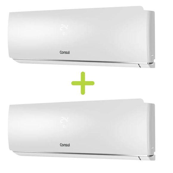 Combo Ar Condicionado Split 9000 Btus Consul Frio Maxi Refrigeração E Economia (Cbn09cbbna + Cbn09cbbna) - Cbn_Cbn_Cj 220V