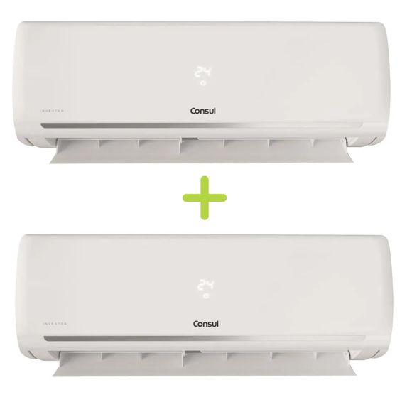 Combo Ar Condicionado Split Inverter 9000 Btus Consul Frio Maxi Refrigeração E Economia (Cbf09ebbna + Cbf09ebbna) - Cbf_Cbf_Cj 220V